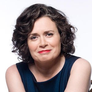 Portrait of Judith Lucy