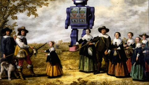 Promo image for Agent, Droid, Infobot: the texty Twitter robots Tully Hansen has known and loved