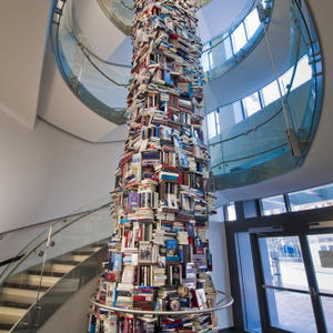 Promo image for Book Art: A Towering Work of Staggering Genius