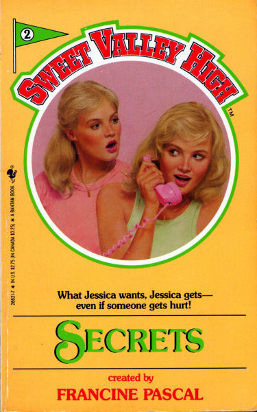 Cover image of a book from the Sweet Valley High series