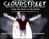 Poster of a Coffs Harbour Amateur Theatrical Society adaptation of *Cloudstreet*
