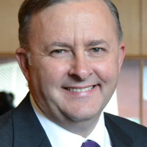 Portrait of Anthony Albanese