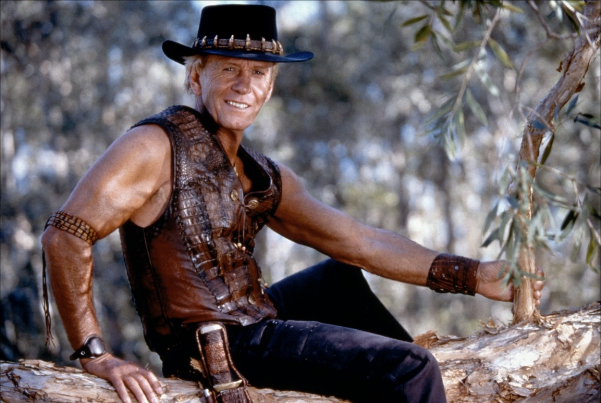 Photo of Paul Hogan as Crocodile Dundee