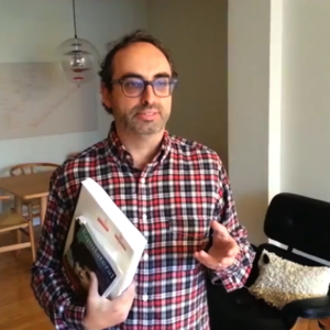 Promo image for Gary Shteyngart and the Art of Blurbing