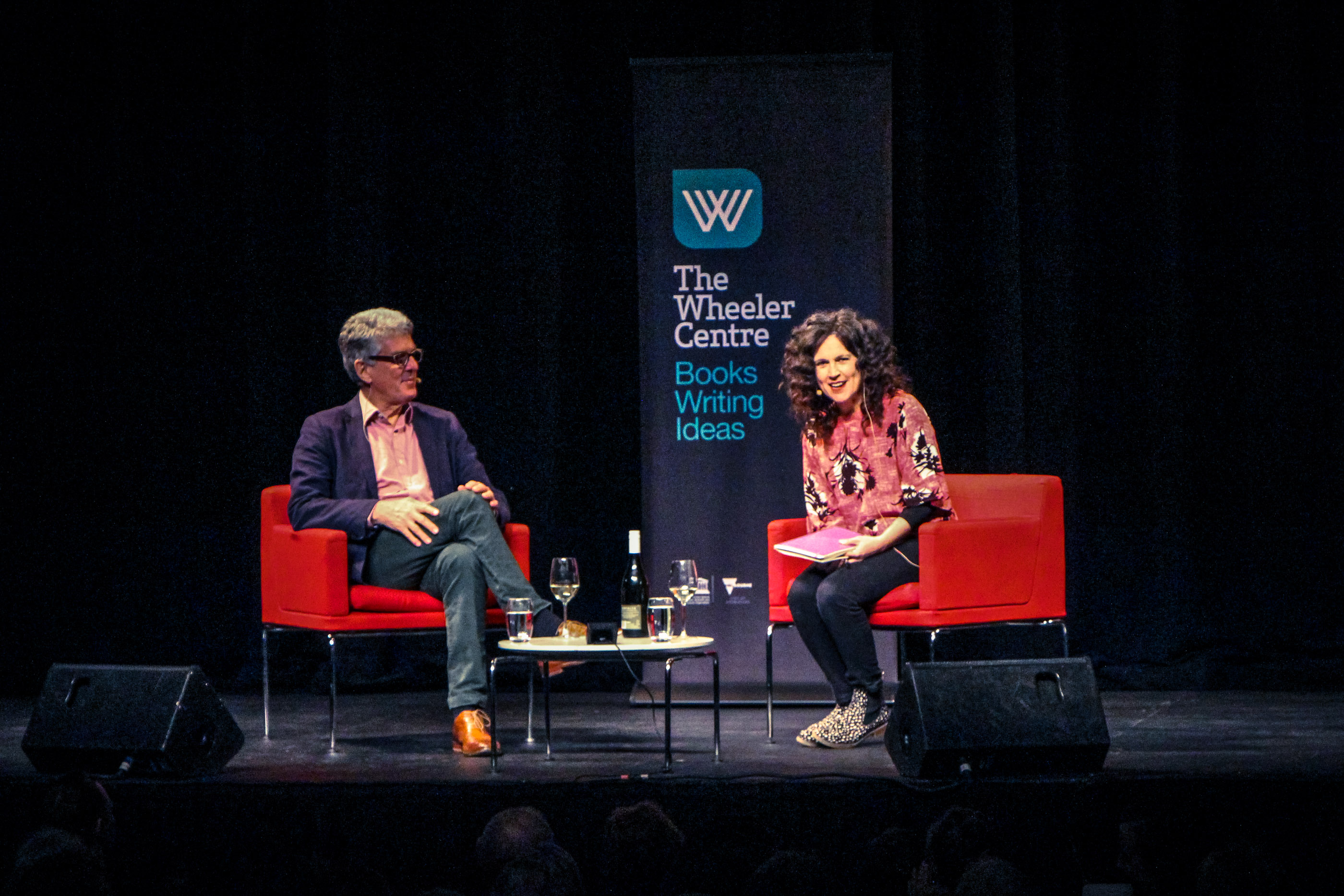 David Marr and Annabel Crabb