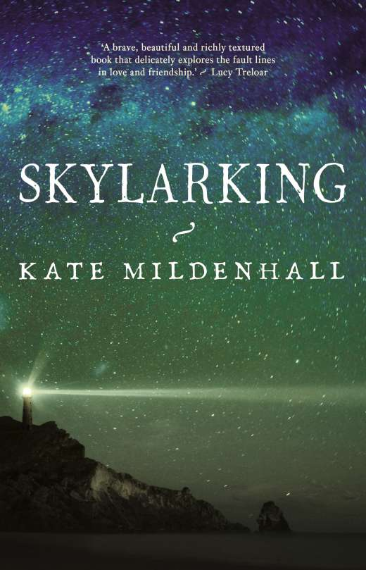 The cover of Kate Mildenhall's book, Skylarking