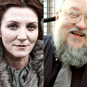 Promo image for Game of Thrones with George R.R. Martin and Michelle Fairley