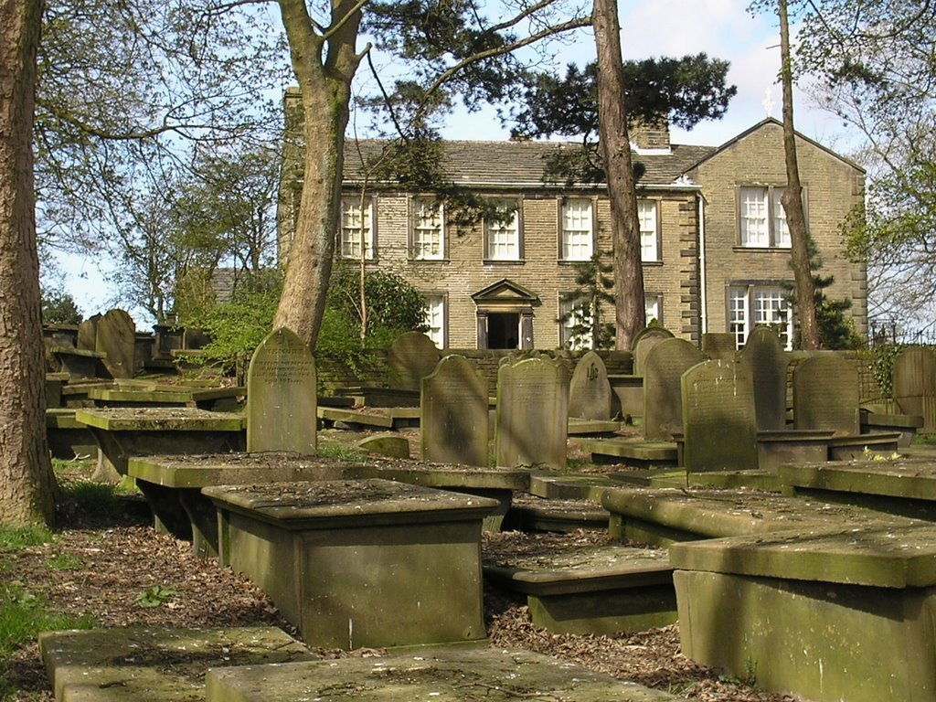 Haworth Parsonage, where the Bronte sisters lived and wrote.