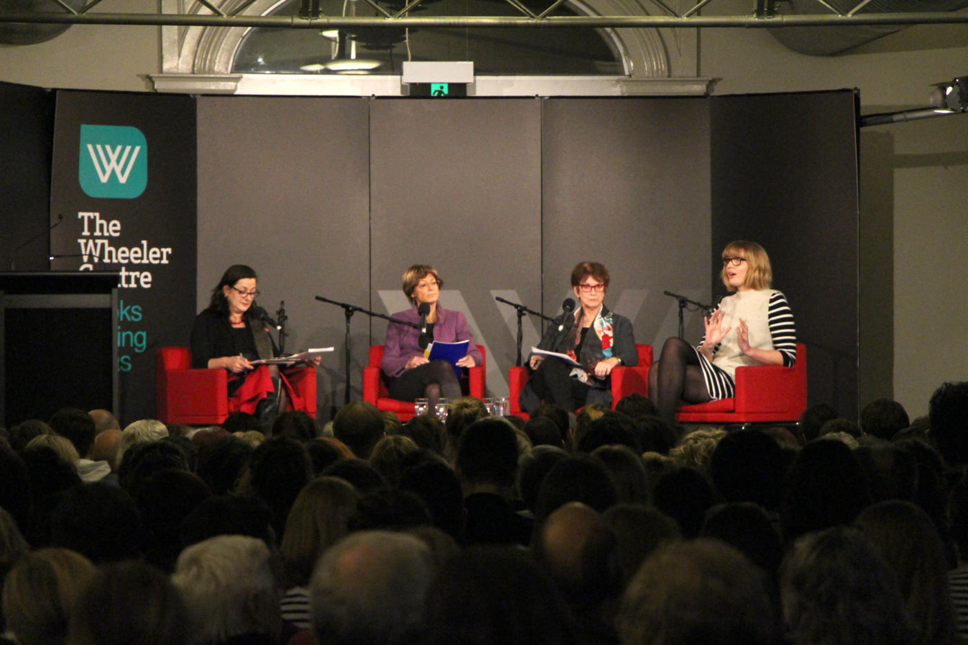 Image: A photo of the panellists