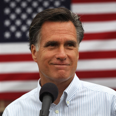 Mitt Romney: Says it's not his job to worry about poor people.