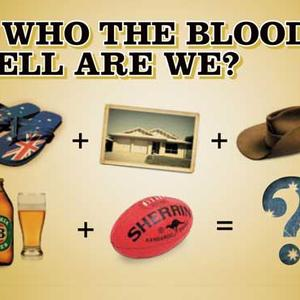 Cover image for So Who the Bloody Hell Are We?