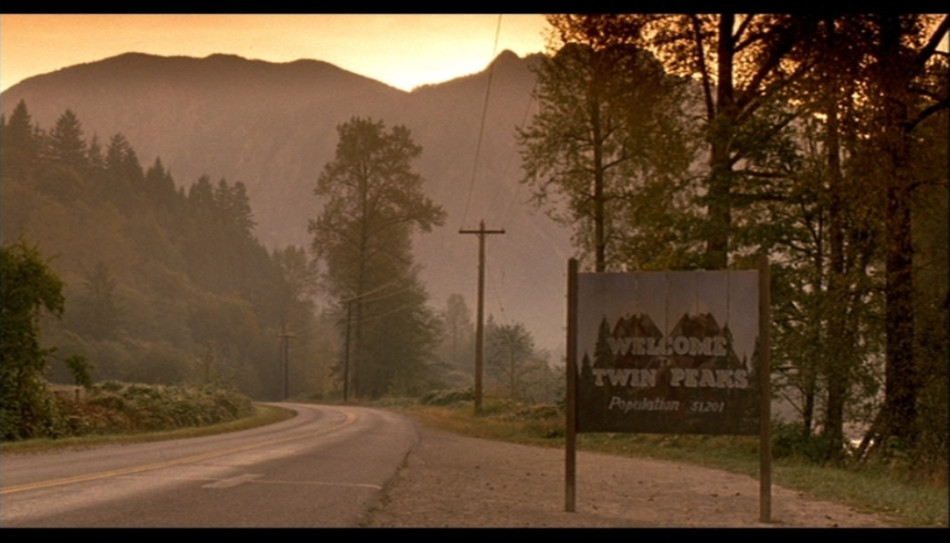 Image: Welcome to Twin Peaks.