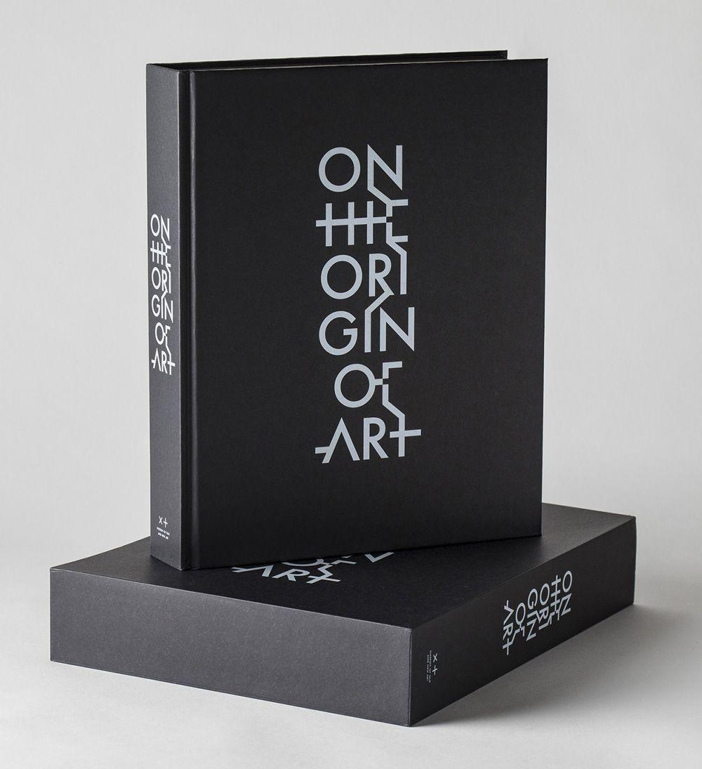 Cover image of the book 'On the Origin of Art'