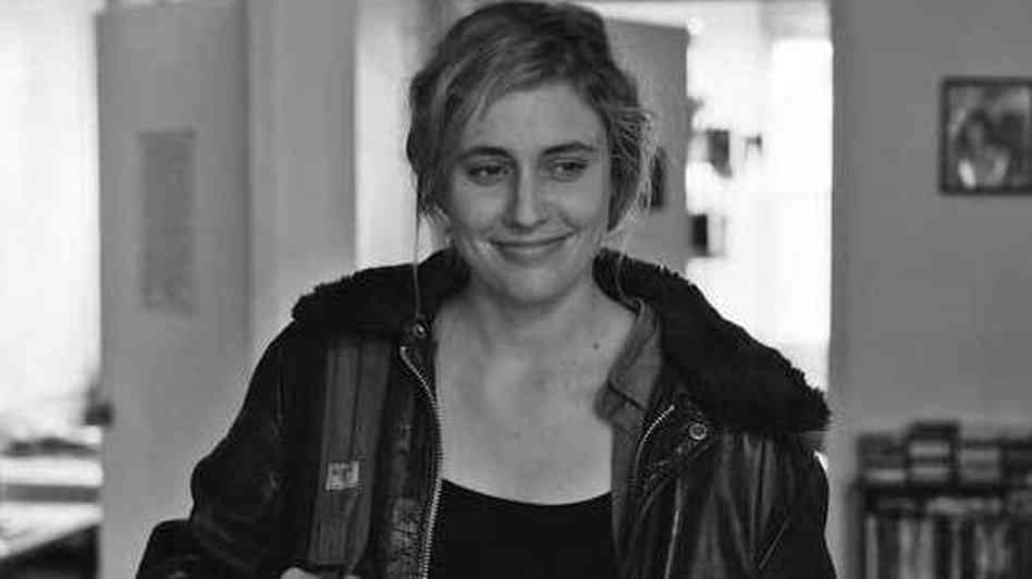 Greta Gerwig in *Frances Ha*.