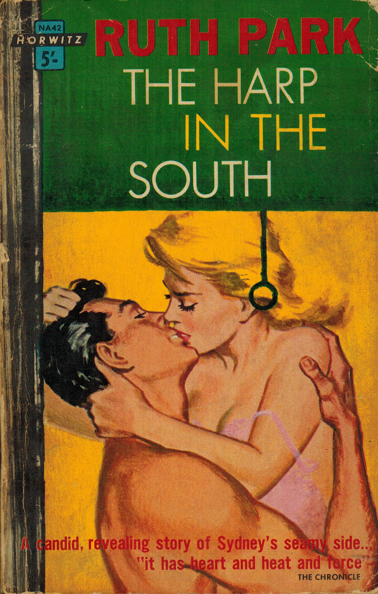 Book cover: Horwitz's edition of The Harp in the South by Ruth Park