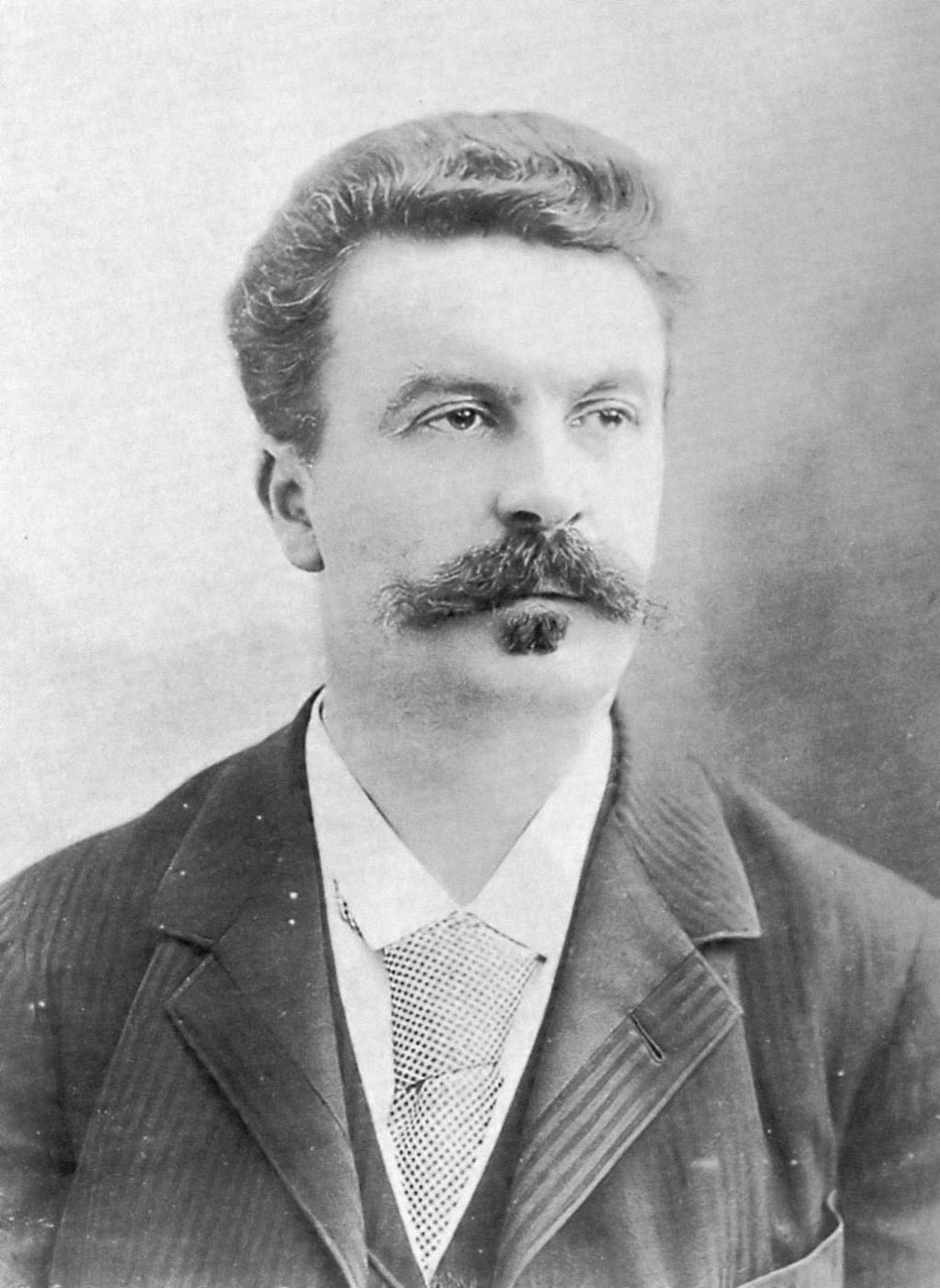 Photograph of Guy de Maupassant