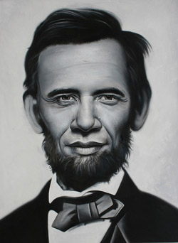 Mash-up image of Presidents Obama and Lincoln by Sascha Stefan Ruehlow, via Flickr.