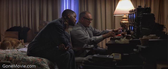 Gene Hackman and Will Smith in *Enemy of the State*. US state digital surveillance might be worse than even the Hollywood scare scenarios.