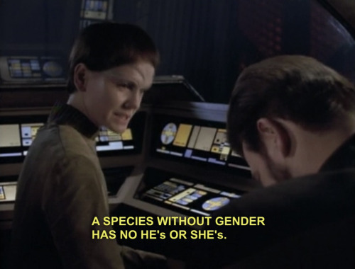 an examination of the gender roles in star trek next generation Sharron j iennon (1993) ,gender roles and appeafance in star trek the next generation, in gcb - gender and consumer behavior volume 2, eds dr janeen arnold costa, salt lake city, ut : association for consumer research, pages: 56 to 57.