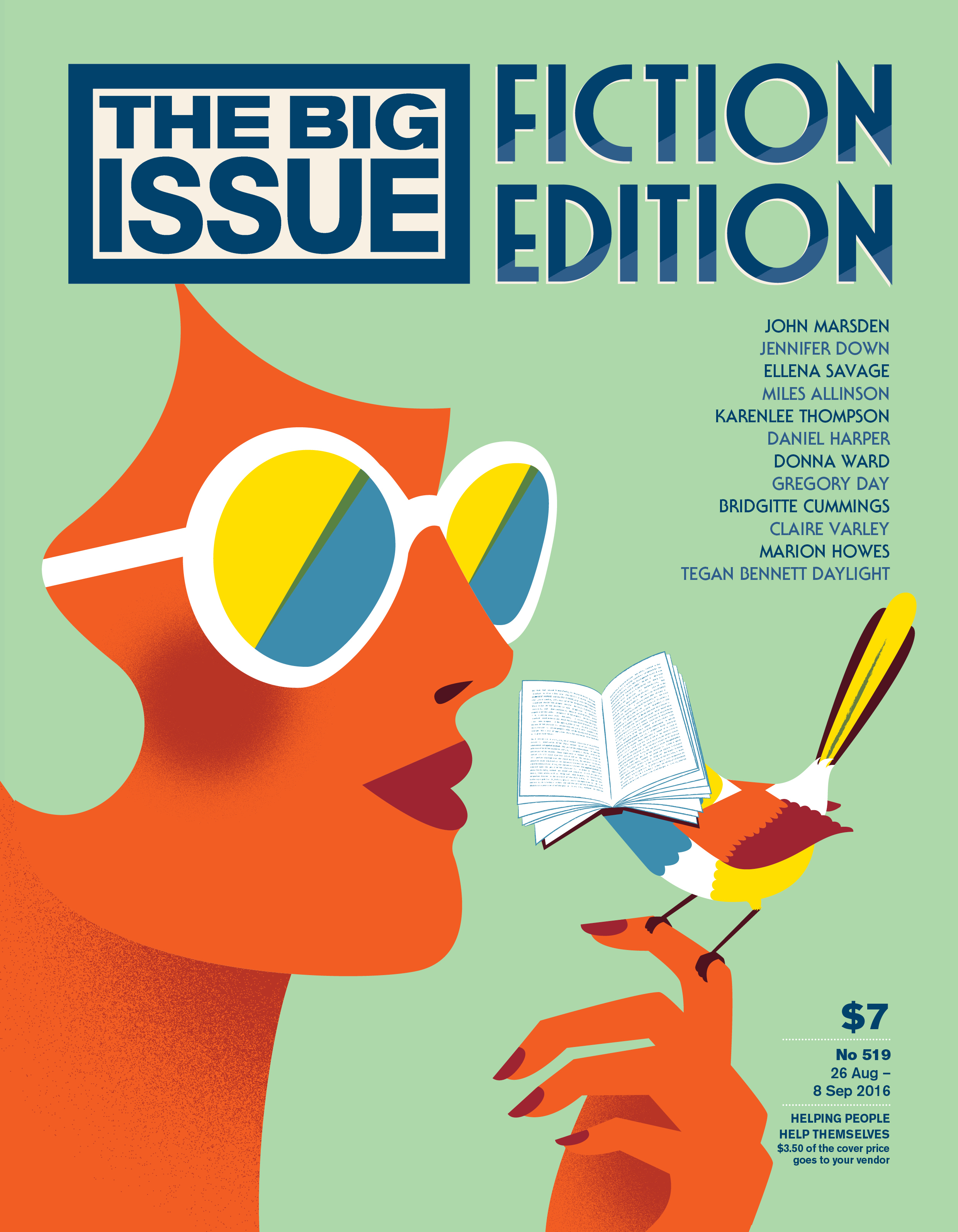 The 2016 Big Issue fiction edition