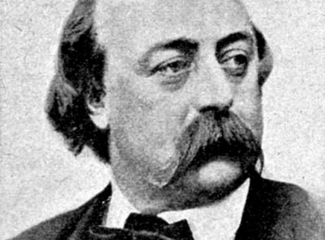 Gustave Flaubert's stylish whiskers mimic the aerodynamics of a toboggan.