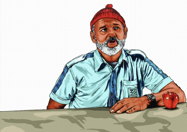 Anneke Lange: Bill Murray in *The Life Aquatic*
