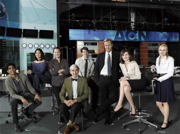 Aaron Sorkin's *The Newsroom*: Artificial intelligence or setting up an ideal?