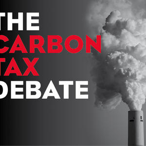 "Promo image for ""A Tax Won't Fix Climate Change"""