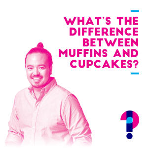 Promo image for What is the difference between muffins and cupcakes? Adam Liaw
