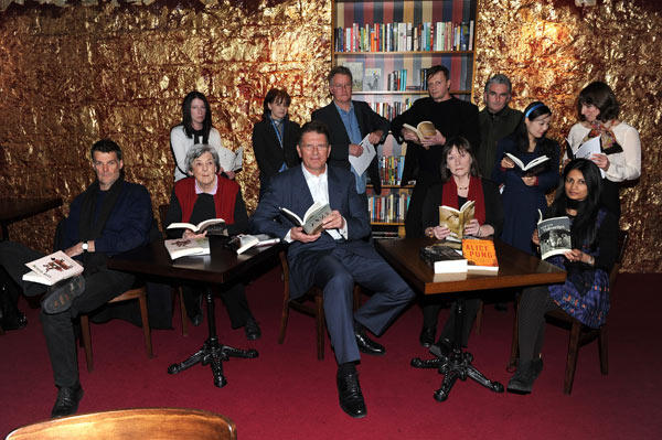 Premier Ted Baillieu this morning announced the shortlisted titles; pictured, with some of the works' authors.