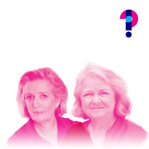 Promo image for Why does 'i' come before 'e', except after 'c'? Mary Norris and Jane Caro