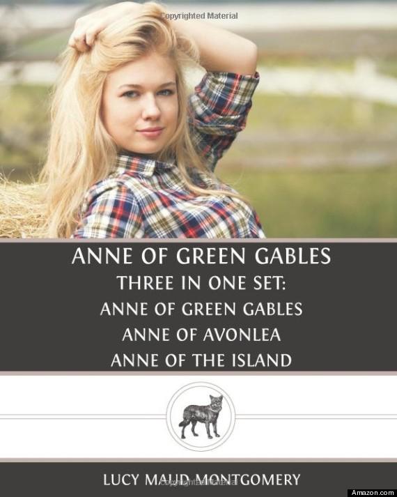 This cover had to be withdrawn, after readers protested redhead Anne's transformation into a blonde cowgirl.