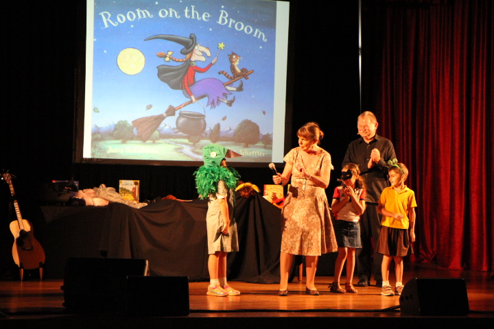 Image: Julia Donaldson and friends in Geelong