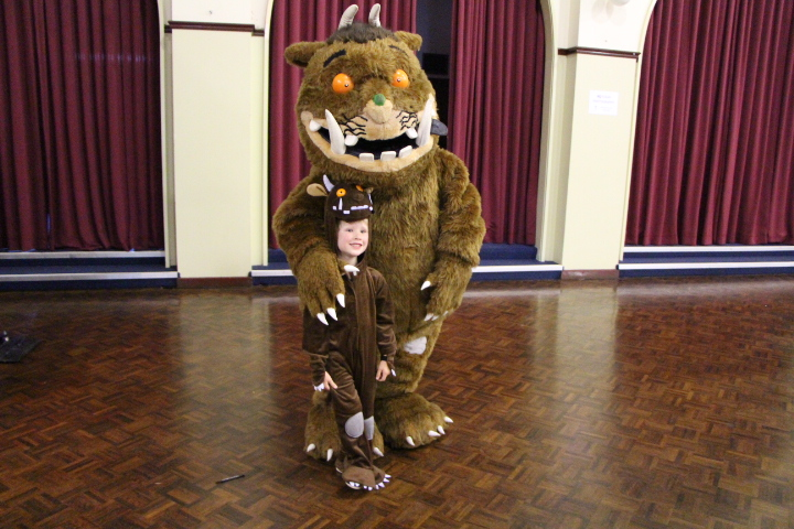 Image: The Gruffalo and The Gruffalo's Child.