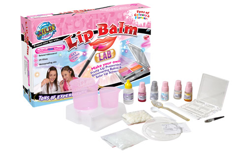 'So much more than just another Lip Balm craft kit! Use industry standard ingredients to create an infinite variety of custom balm bases. For cold or hot weather, for sun or wind with softer or harder feel, and more.'