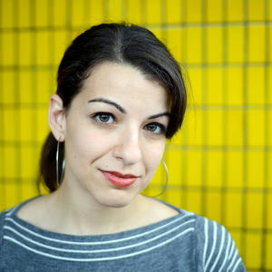 Portrait of Anita Sarkeesian