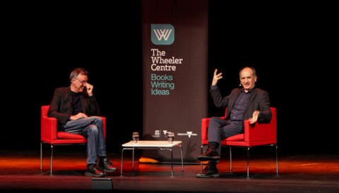 Cover image for of Armando Iannucci in Conversation with Tony Martin