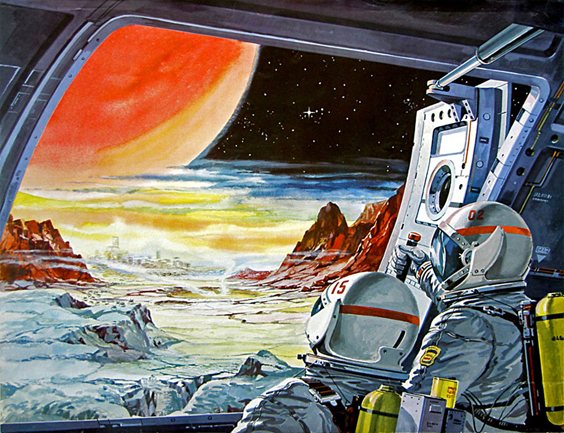 Image: Space illustration (public domain)