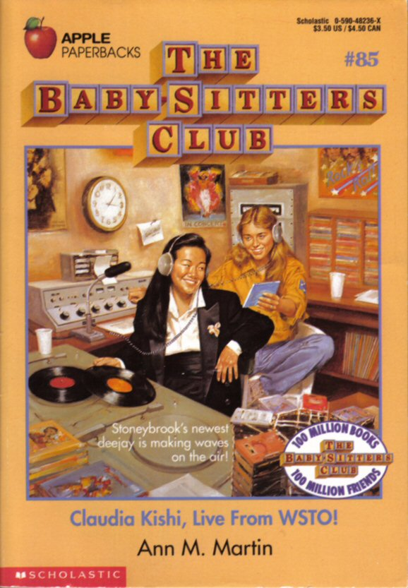 Cover image of a book from the Babysitters Club series