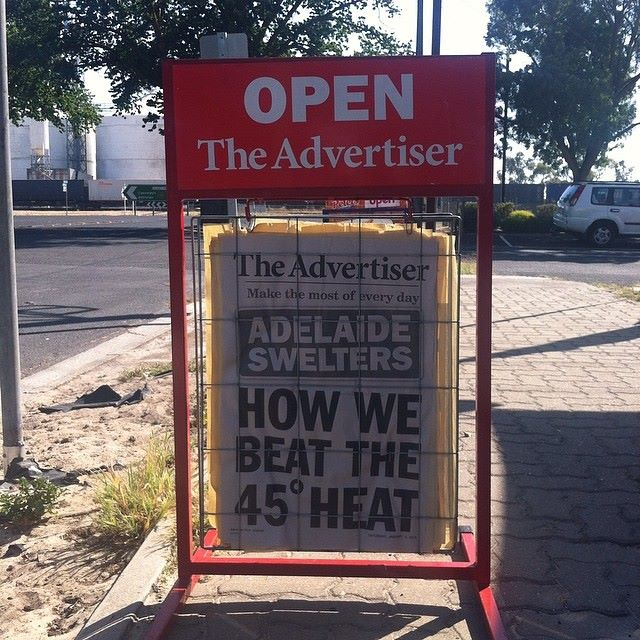Headlines during one of our - more frequent - hot summers.