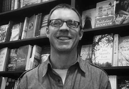 Australian Bookseller of the Year Martin Shaw: 'It's always been about the books.'