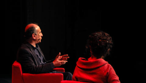 Cover image for of Armando Iannucci in Conversation with Annabel Crabb