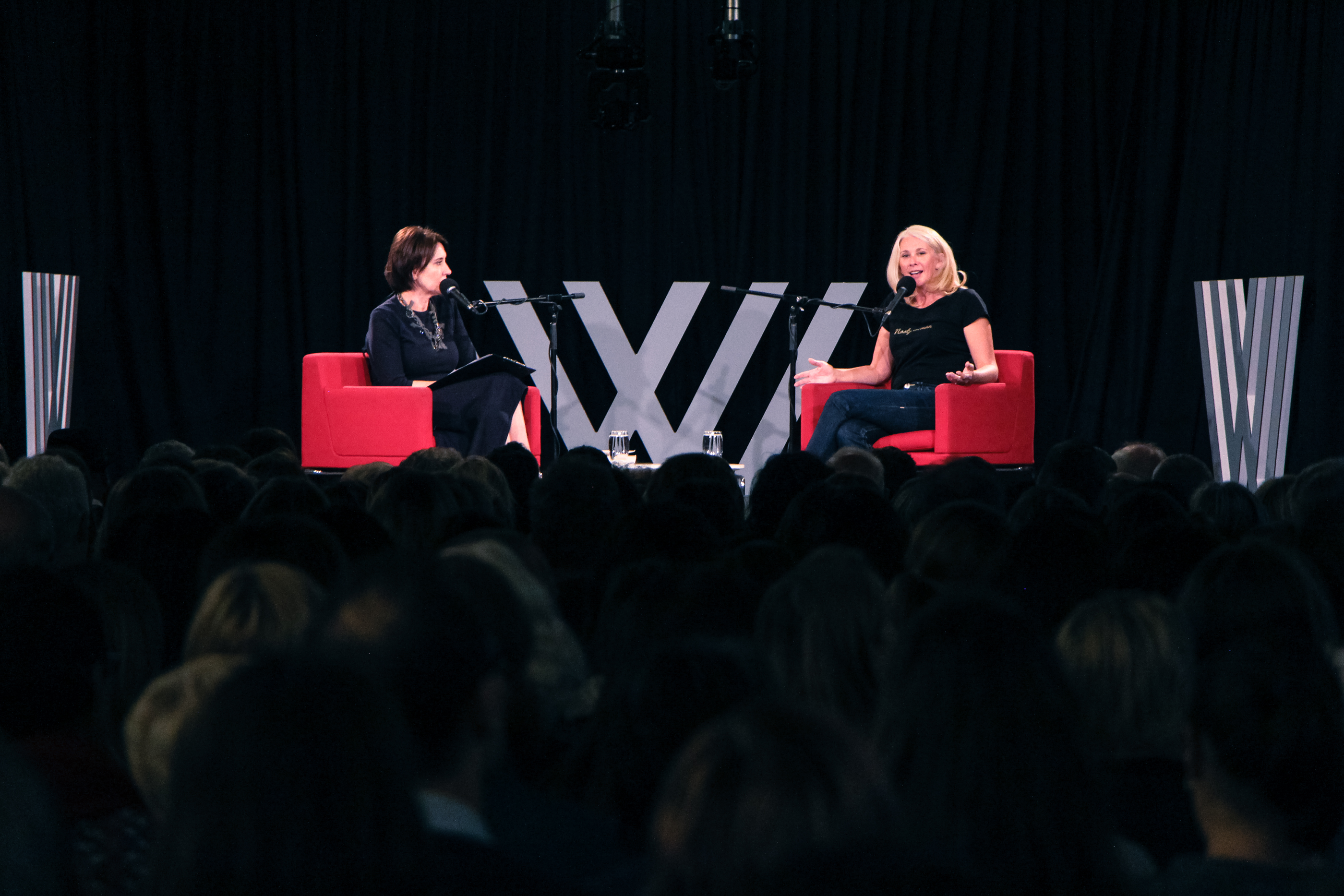 Photo of Virginia Trioli and Tracey Spicer