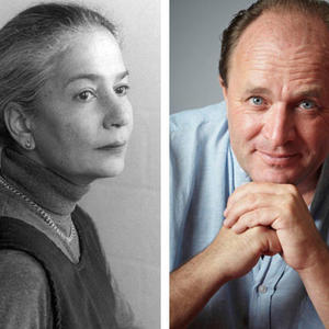 Promo image for Anita Desai and William Dalrymple