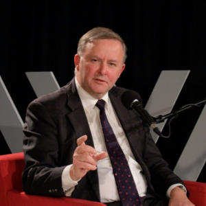 Promo image for The Fifth Estate: Straight Talk with Anthony Albanese