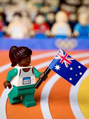 Cathy Freeman's gold medal win in the 400 metres at the Sydney 2000 Olympics.