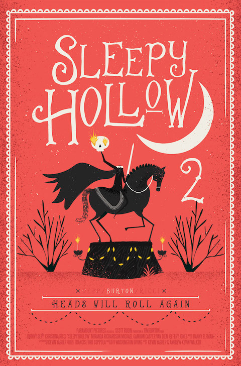 Artist, Andrew Bannecker: *Sleepy Hollow 2*.