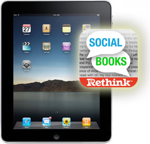 Social Books on an iPad