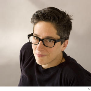 Promo image for Alison Bechdel