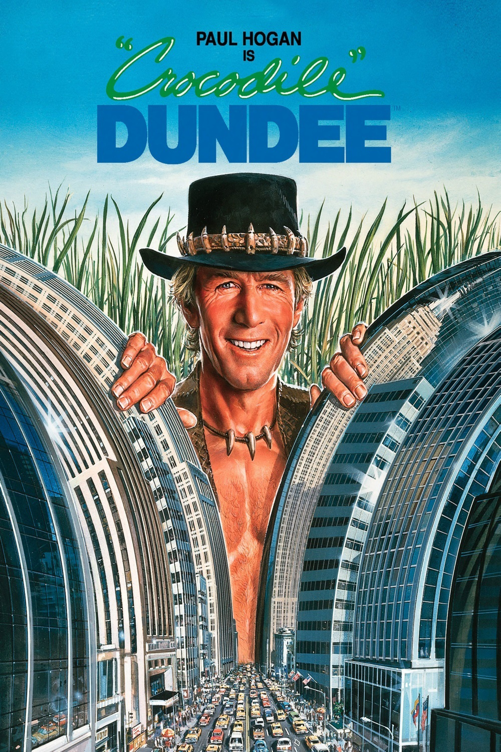 Movie poster for Crocodile Dundee